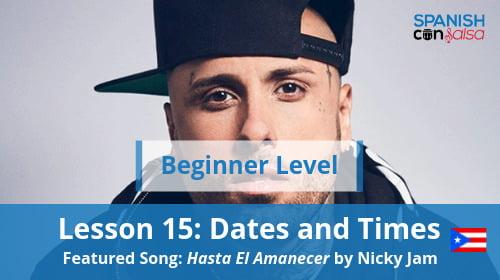 Beginner Lesson 15