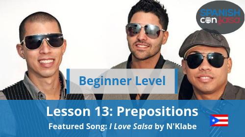Beginner Lesson 13