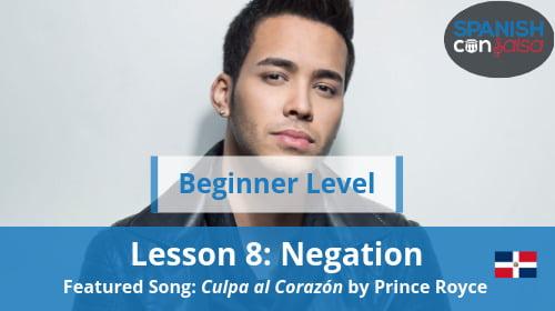 Beginner Lesson 8