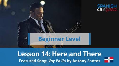 Beginner Lesson 14