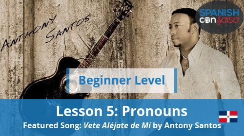 Beginner Lesson 5